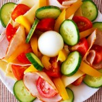Delicious and refreshing summer salad