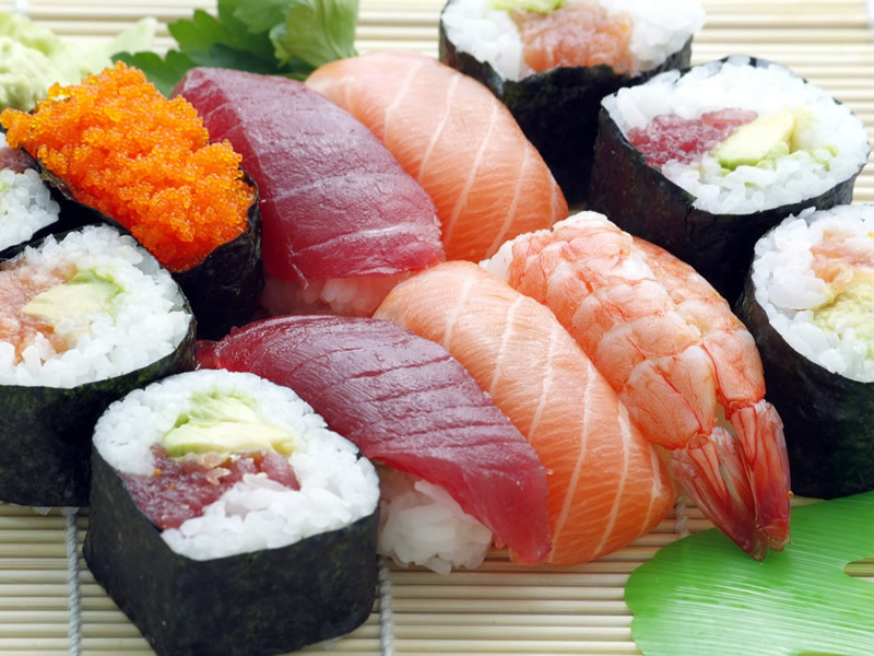 This is the best sushi you have ever tasted
