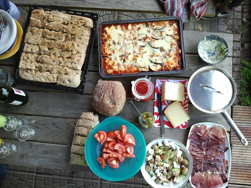 Host a feast in your backyard